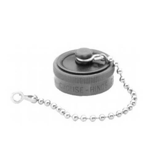 Cooper Crouse-Hinds RPE017-009 Dust Cap With Eyelet For Receptacle/RPC or RPE Series Connector-