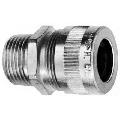 Cooper Crouse-Hinds CGB193-SA Non-Armoured Gland Connector 1/2 Inch 0.250 - 0.375 Inch Steel