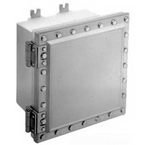 Cooper Crouse-Hinds EJB181208 EJB Series Style C Junction Box 12 Inch Width x 8 Inch Depth x 18 Inch Height  Aluminum