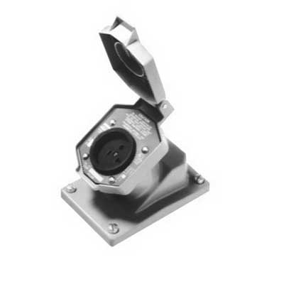 Cooper Crouse-Hinds ENR5151 Arkgard 2 DF Receptacle; 15 Amp, 125 Volt