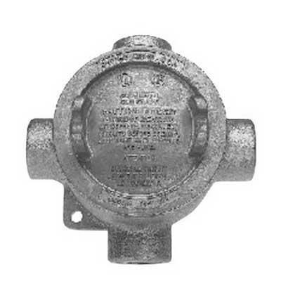 Cooper Crouse-Hinds EABX26-SA Condulet® Hub; 3/4 Inch, Copper Free Aluminum