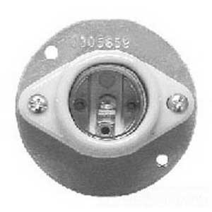 Cooper Crouse-Hinds V46 Vaporgard Lamp Receptacle; Medium Base, For V-Series Incandescent Luminaires