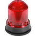 Edwards 125HALFR120A Class 125 Flashing Halogen Beacon Light; 120 Volt AC, 0.200 Amp, Red, 1/2 Inch NPT Internal Or 3/4 Inch External NPT Conduit Mount