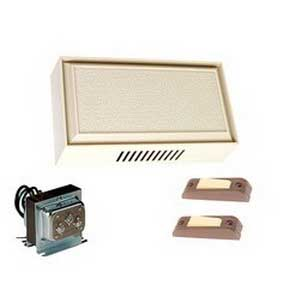 Edwards C212-W Builders Door Economy Chime Kit With Bell; 10 VA, 10 Volt AC, 1.2 Amp, White