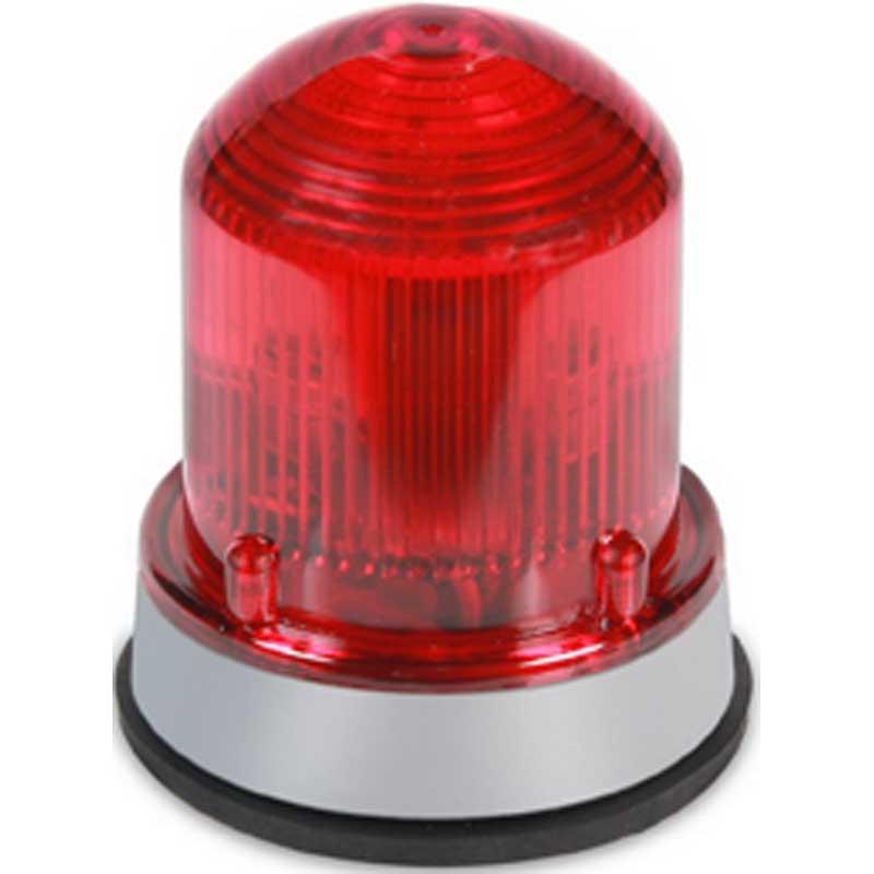 Beacon Internal Wall Lights : Edwards 125LEDFR120AB Class 125 Standard Flashing LED Beacon Light 120 Volt AC 0.097 Amp Red 1/2 ...