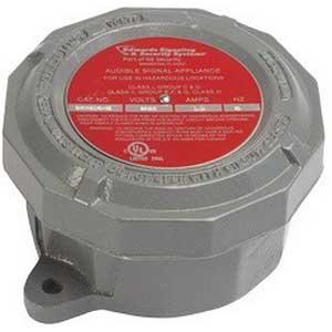 """""""""""Edwards B-KM-8140-N5 Adapta Buzzer 120 Volt AC, 99 DB At 1 m, 89 DB At 10 ft, Gray,"""""""""""" 388361"""