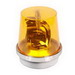 Edwards 53A-E1 Incandescent Rotating Beacon; 12 Volt DC, 1.8 Amp, Amber, 1/2 Inch NPT Conduit/Surface Mount