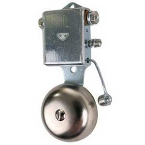 """""Edwards 13-1G1 13 Series General Purpose Miniature Vibrating Bell 1 Inch, 24 Volt DC, 74 DB At 1 m, 64 DB At 10 ft,"""""" 91350"