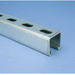 Erico A12H1000PG Strut Channel; 12 Gauge, 10 ft x 1-5/8 Inch x 1-5/8 Inch, Half Slot, Steel, Pre-Galvanized