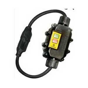 Ericson XG2-14-2S In-Line GFCI Cord; 120 Volt, 15 Amp, 2 ft