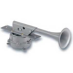 Federal Signal 52-024-1 Resonating Horn; 24 Volt DC, 114 DB At 10 ft, Gray