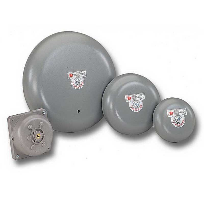 """""""""""Federal Signal A4 Vibratone Bell 4 Inch, 98 DB At 10 ft, Gray,"""""""""""" 53498"""