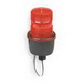 Federal Signal LP3M-120R StreamLine® Low Profile Strobe Light; 120 Volt AC, 0.10 Amp, Red, 1/2 Inch Male Pipe Mount