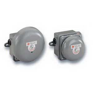 """""Federal Signal 504-120-1 Vibrating Bell 120 Volt AC, 98 DB At 10 ft, Gray,"""""" 670483"
