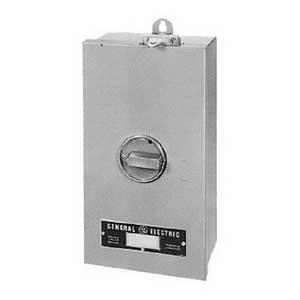 GE Distribution SF250J Circuit Breaker Enclosure; 250 Amp, Surface Mount, Steel