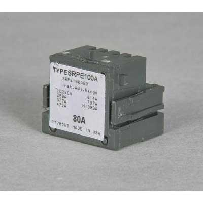GE Distribution Spectra RMS™ Mag-Break SRPK1200A800 Rating Plug; 80 Amp
