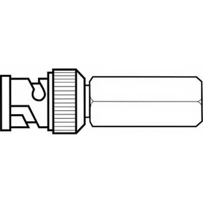 Ideal 85-470 Commercial Grade BNC Twist-on Plug RG-58  20 AWG Solid PVC