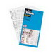 Ideal 44-103 B595 Wire Marker Booklet; Plastic-Impregnated Cloth, Black On White