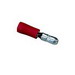 Ideal 83-8001 Vinyl Insulated Bullet Disconnect; 300 Volt, 22-18 AWG, Red