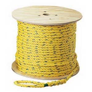 Ideal 31-839 Pro-Pull™ Pull-Rope; Polypropylene, Yellow