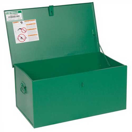 Greenlee 1531 Welders Box Assembly 31.000 Overall Width x 18.000 Overall Depth x 15.000 Overall Height- 4.800 Cubic-ft- Green-
