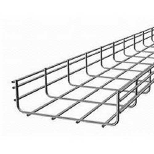 hoffman qt2x4 wire mesh cable tray  10 ft x 4 inch x 2 inch  zinc-plated