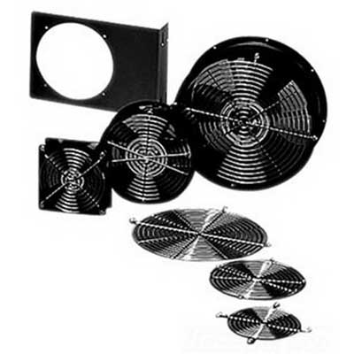 Hoffman A6AXFN Compact 6 Inch Axial Fan; 115 Volt AC, Black, 2670 RPM At 50 Hz, 3200 RPM At 60 Hz, 200 cfm At 50 Hz, 240 cfm At 60 Hz