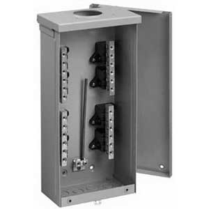 Hoffman Pentair TB3R101 Terminal Box; 100 Amp, 3-Bar, 16 Gauge Steel, NEMA 3R