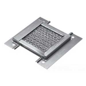 Hoffman AFLT66 Filter Kit For AVK66 Steel or AVK66SS6 Stainless Steel Louver Plate; Aluminum