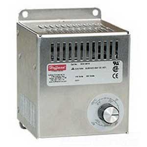 Hoffman DAH2001A Electric Heater; 200 Watt, 115 Volt at 50/60 Hz, 1.89 Amp, 1-Phase, Panel Mount Aluminum Housing, Brushed Aluminum