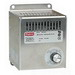Hoffman DAH1001A Electric Heater; 100 Watt, 115 Volt at 50/60 Hz, 0.98 Amp, 1-Phase, Panel Mount Aluminum Housing, Brushed Aluminum