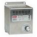 Hoffman DAH4001B Electric Heater; 400 Watt, 115 Volt at 50/60 Hz, 3.72 Amp, 1-Phase, Panel Mount Aluminum Housing, Brushed Aluminum