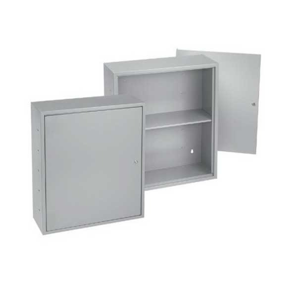 Hoffman Pentair A242412UC Locking Utility Cabinet; 24 Inch Width x 12 Inch Depth x 24 Inch Height, 16/14 Gauge Steel