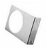 Hoffman ABRKT6 Fan Mounting Bracket; Panel Mount, Aluminum