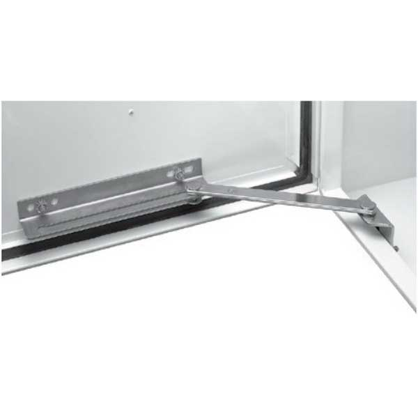 Hoffman Pentair ALGDSTOP2 Engineering Door Stop Kit; Steel, Plated