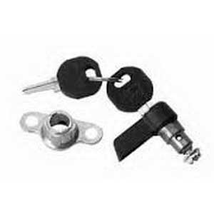 Hoffman Pentair LLKWK Inline™ Insert Locking Wing Knob Latch; Steel/Die-Cast-Zinc, Black