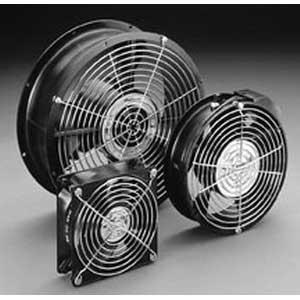 Hoffman A10AXFN2 Compact 10 Inch Axial Fan; 230 Volt AC, Black, 1350 RPM At 50 Hz, 1650 RPM At 60 Hz, 480 cfm At 50 Hz, 560 cfm At 60 Hz