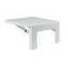 Hoffman Pentair AASHLF1818 Large Folding Shelf; Heavy Gauge Steel, White, 1.730 Inch Surface Mount