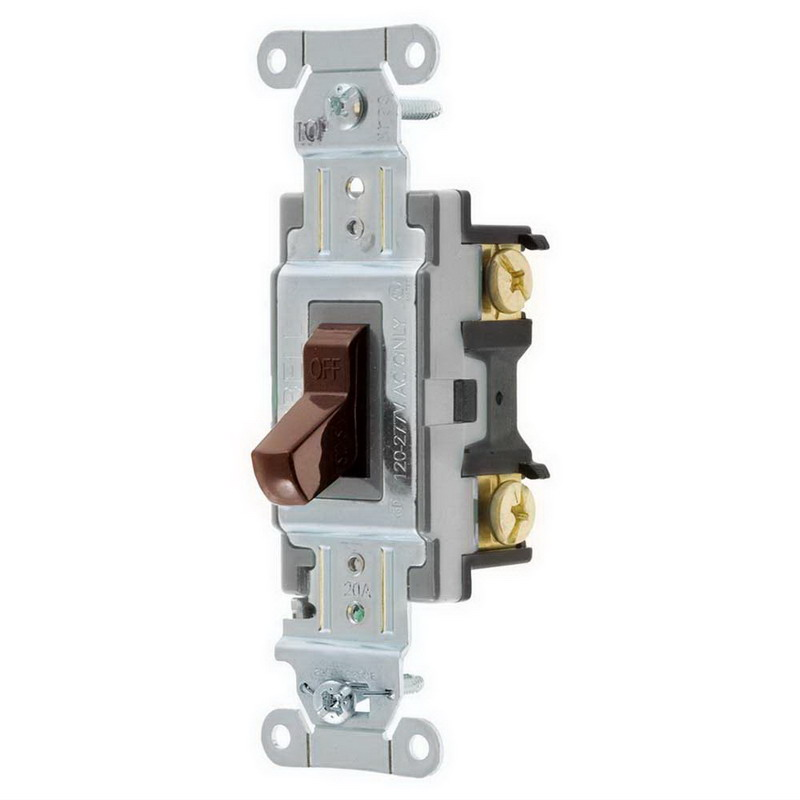 hubbell wiring csb120 specification grade commercial series switch hubbell wiring csb120 specification grade commercial series switch 120 277 volt ac 20 amp two position 1 pole