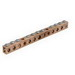 Ilsco D167-10 Grounding Bar; 10 Circuit Tap, High-Strength Copper Tubing
