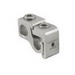 Ilsco GTA-2-2 Parallel Tap Connector Without Cover; 2-12 AWG, Aluminum Alloy