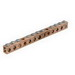 Ilsco D167-12 ClearChoice® Grounding Bar; 12 Circuit Tap, High-Strength Copper Tubing