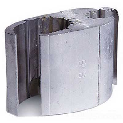 Blackburn / Elastimold WR399 WR Series Compression H-Tap Connector; Main: 4/0-3/0 AWG Stranded, Tap: 2/0-1/0 AWG Stranded, 1350 Aluminum Alloy