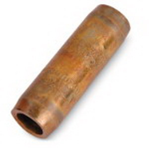 Blackburn / Elastimold 60CNT2 Threadless Ground Rod Coupling; 0.690 Inch Dia x 2.500 Inch Length, Copper