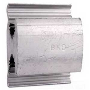 Blackburn / Elastimold WR1010 WR Series Compression H-Tap Connector; Main: 2/0-4 AWG Stranded, Tap: 2/0-4 AWG Stranded, 1350 Aluminum Alloy