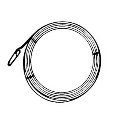 Blackburn / Elastimold 14-258 Fish Tape Coil; 100 ft Length, Plastic Case