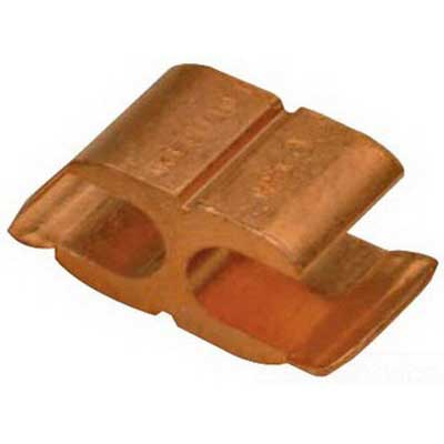 Blackburn / Elastimold CF44-1 CF Series Compression H-Tap Connector; Main: 6 AWG Stranded Copper, 4, 6 AWG Solid Copper, Tap: 6 AWG Stranded Copper, 8-4 AWG Solid, Copper
