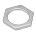 Madison LNS-300 Locknut; 3 Inch, Right Hand Threaded, Steel, Zinc-Plated