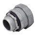 Madison LQA-1150 Straight Insulated Liquidtight Box Connector; 1-1/2 Inch, Threaded, Zinc Die-Cast