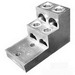 Greaves AQ4-600 AQ Series Panel Board Step Lug; 600 MCM - 2 AWG Stranded, 3/8 Inch Bolt, Aluminum Alloy, Electro-Tin Plated